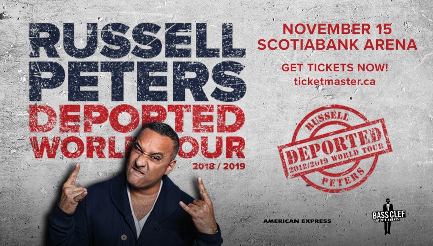 More Info for Russel Peters