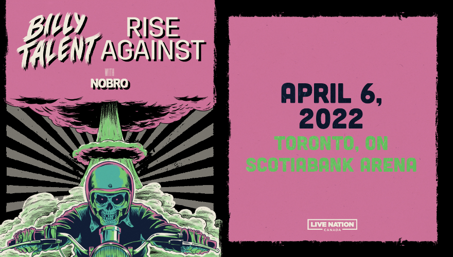 More Info for Billy Talent & Rise Against