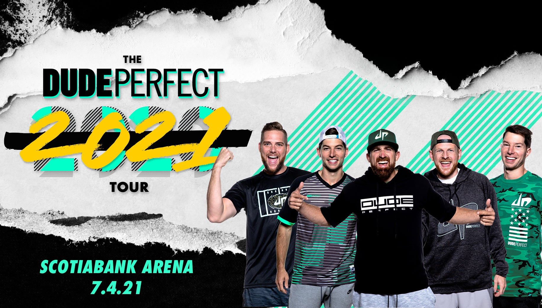 More Info for RESCHEDULED: The Dude Perfect 2021 Tour