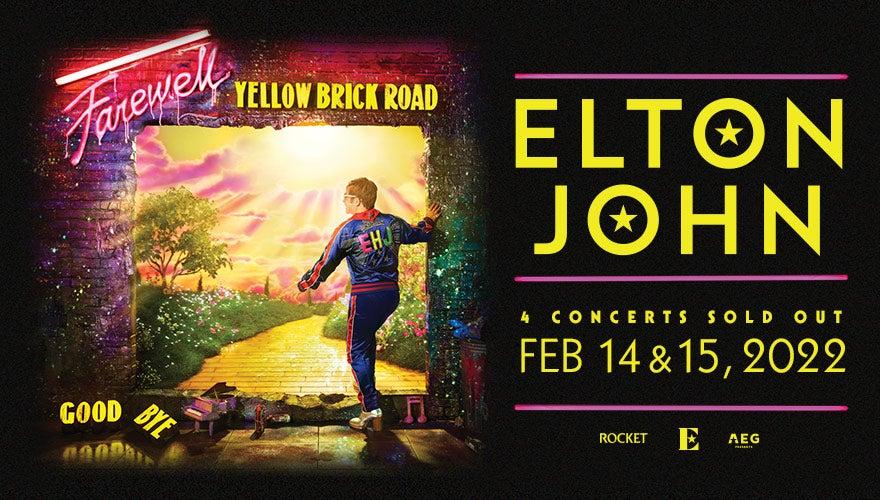 More Info for RESCHEDULED: Elton John