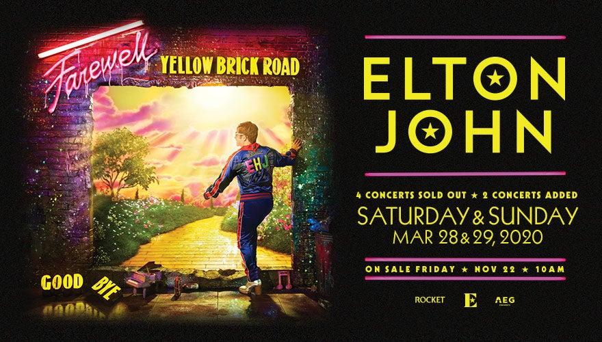 More Info for POSTPONED: Elton John
