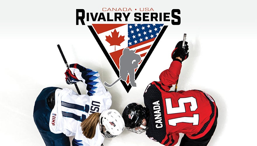 Team Canada vs. USA Women's Hockey