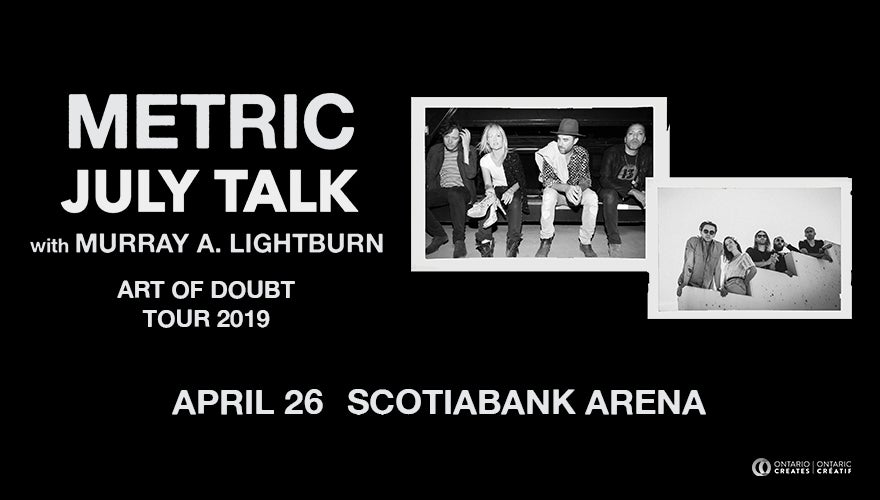 More Info for Metric with July Talk
