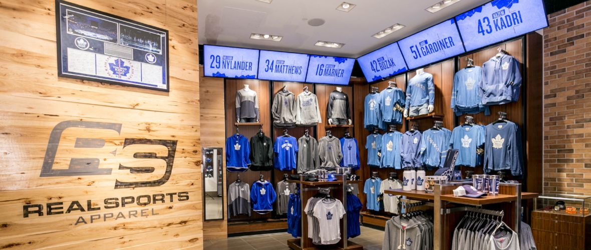 sports shoes 59b88 5f834 Team Stores | Scotiabank Arena