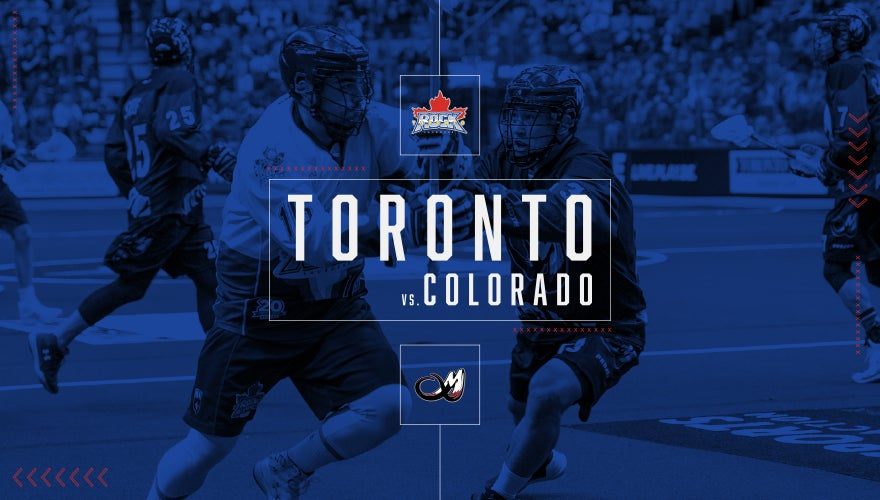 CANCELLED: Toronto Rock vs. Colorado Mammoth
