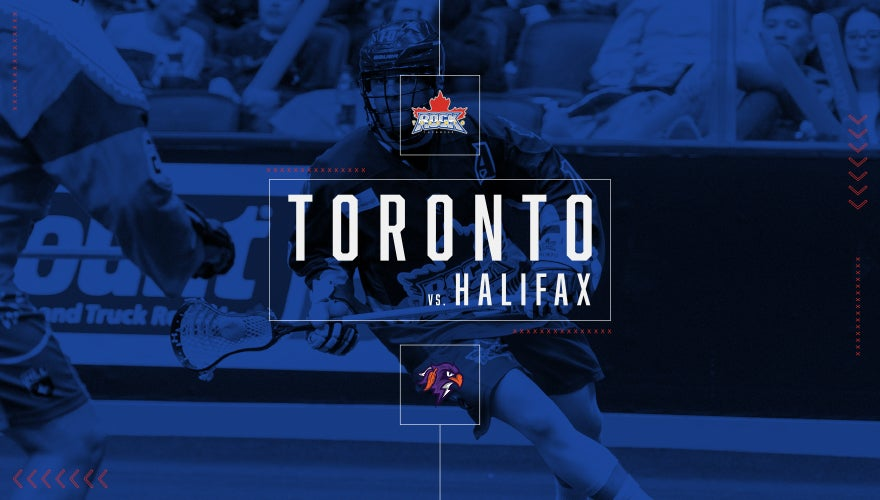 Toronto Rock vs. Halifax Thunderbirds
