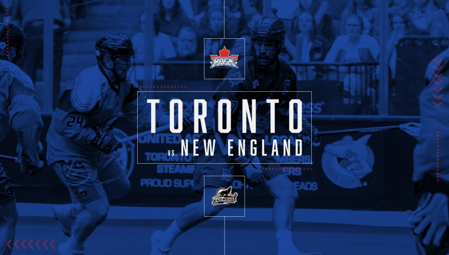 More Info for Toronto Rock vs. New England Black Wolves