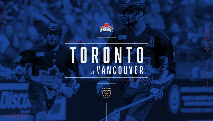 More Info for Toronto Rock vs. Vancouver Warriors