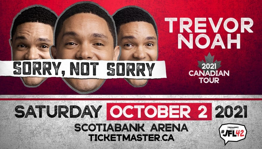 RESCHEDULED: Trevor Noah - Sorry, Not Sorry Tour
