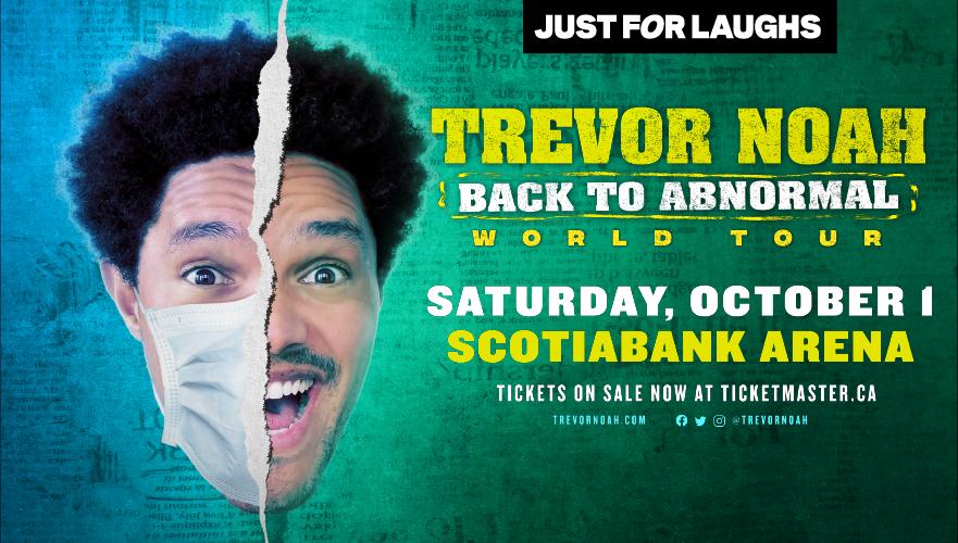 RESCHEDULED: Trevor Noah - Back to Abnormal World Tour